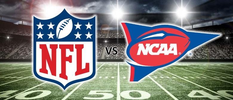 축구 도박 팁 : CFB 대 NFL