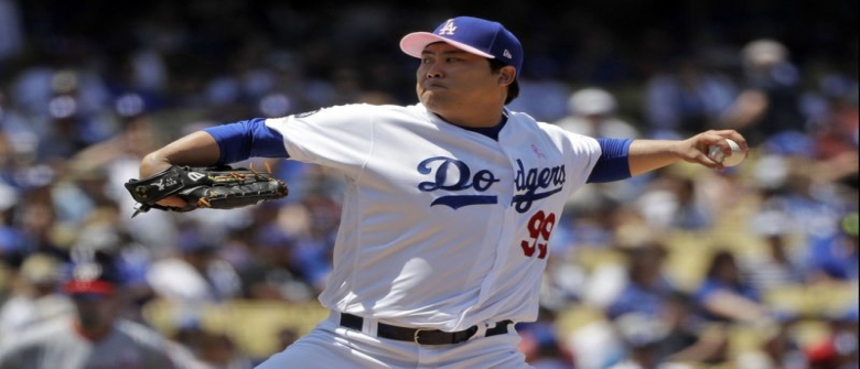 Ryu Picks Up Fourth Win for Dodgers