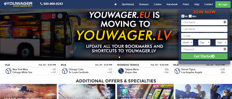Youwager Sportsbook Review