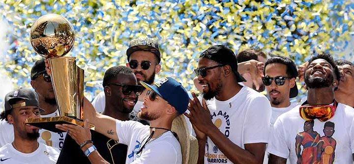 Warriors are the Franchise of the Decade