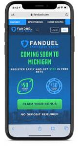 FanDuel Offers Free Bets as Michigan Welcomes Online Sports Betting