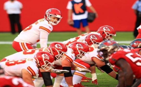2021 Super Bowl Face Off: Buccaneers against the Chiefs