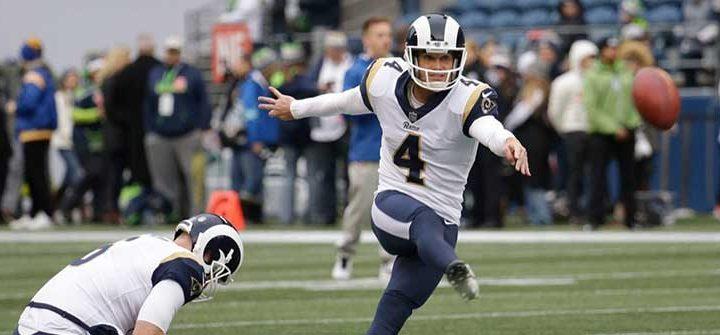 Rams kicker Greg Zuerlein