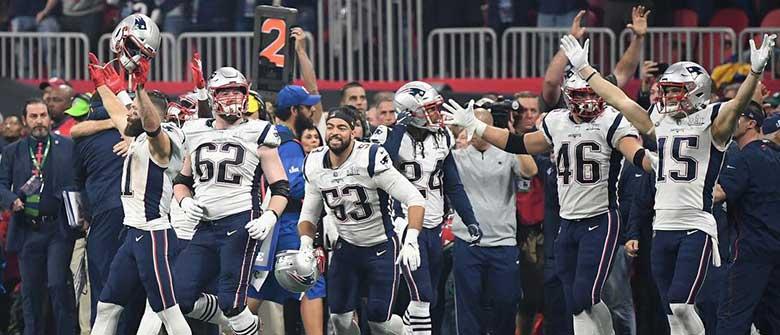 New England Patriots Win Super Bowl LIII