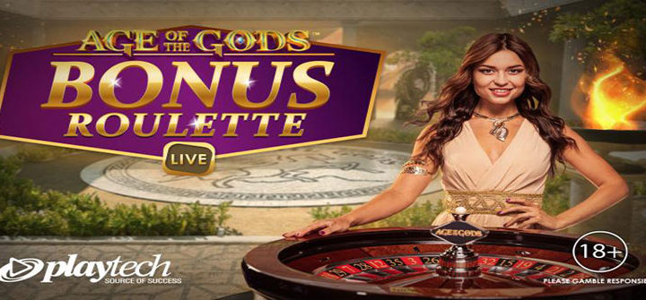 Playtech Releases Age of the Gods Bonus Live Roulette Table