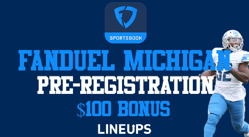 FanDuel은 미시간이 온라인 스포츠 베팅을 환영함에 따라 무료 베팅을 제공합니다