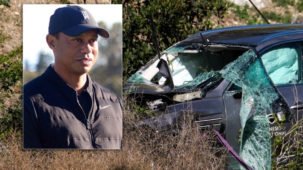 Tiger Woods had Car Wreck